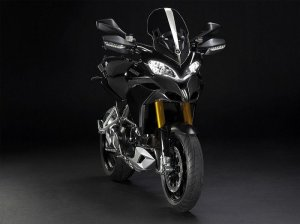 The new Ducati Multistrada 1200cc (black)