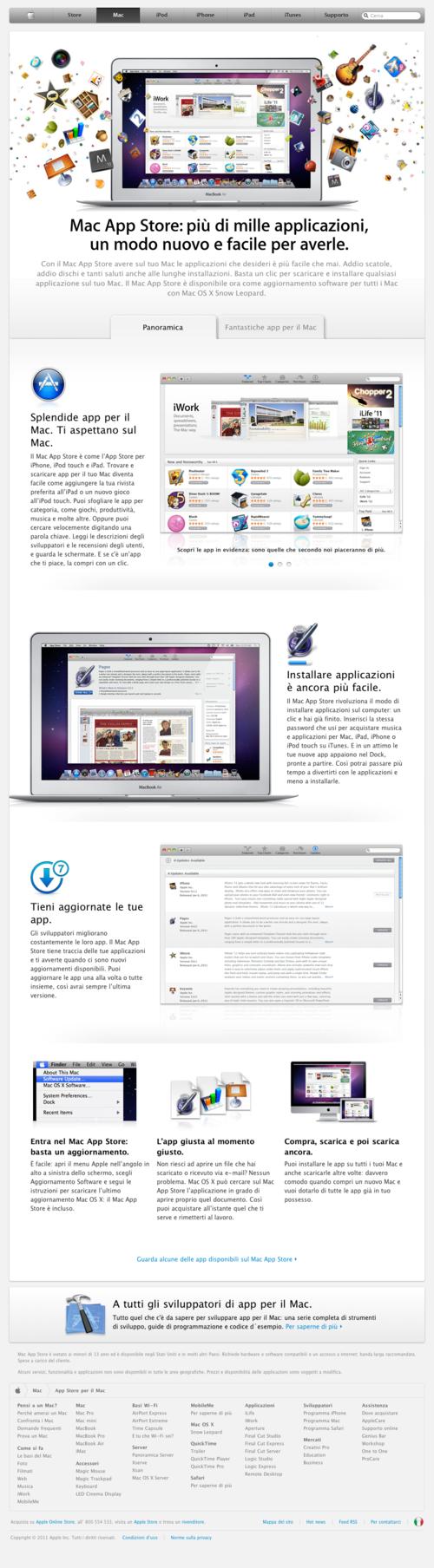 Mac AppStore is here