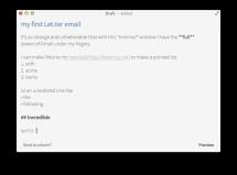 LET.TER, release1.0 -- 08