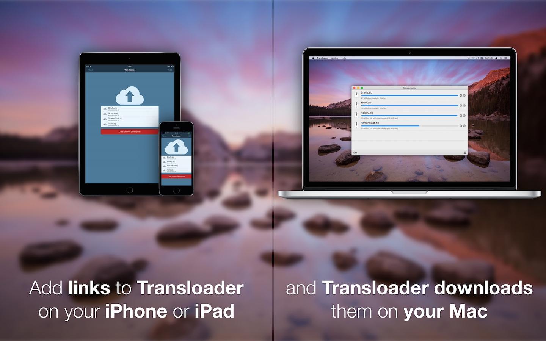 Transloader – schermata esemplificativa