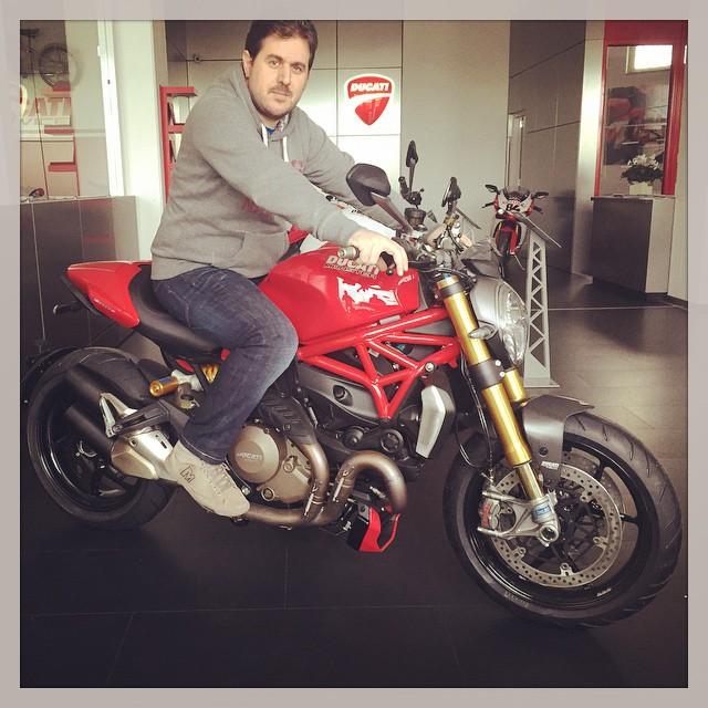 kOoLiNuS over the new Ducati Monster 1200S