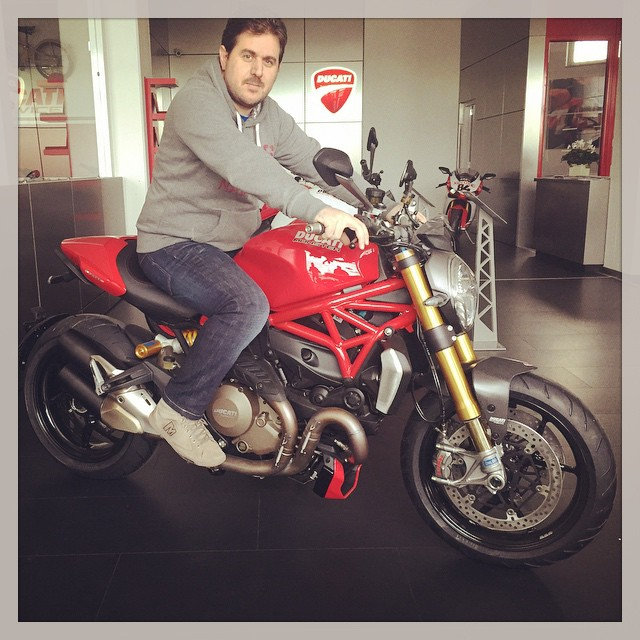 kOoLiNuS over the new Ducati Monster 1200S