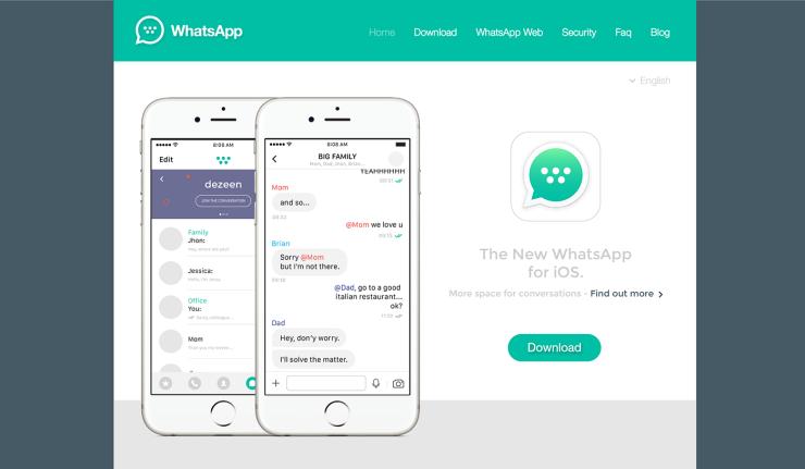 the new Whatsapp by Marcello Di Giovanni