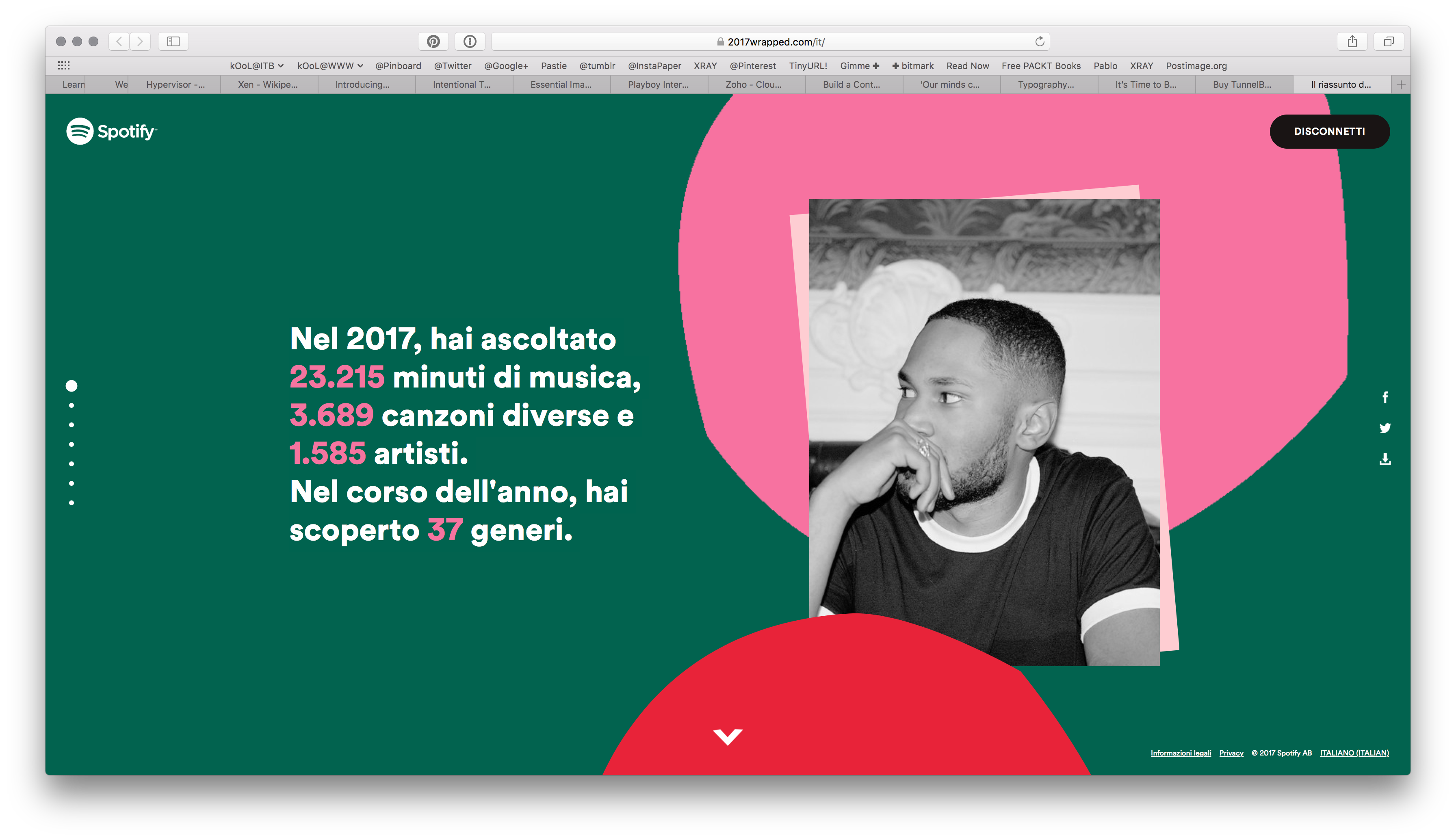 Spotify 2017 - details